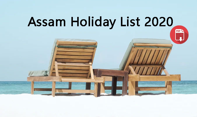 Assam Govt Holiday List 2020