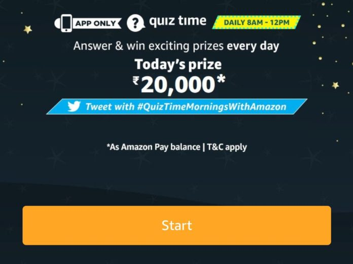 Amazon Quiz Today Answer 14 May 2020
