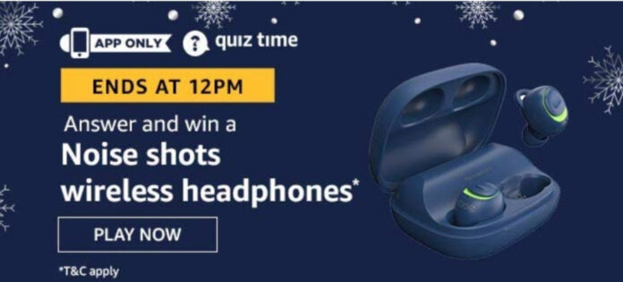 Amazon Quiz 1st August