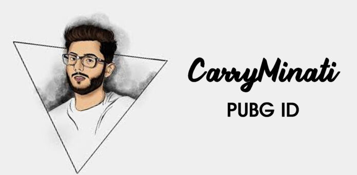 CarryMinati PUBG ID