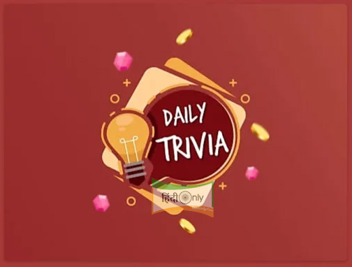 Flipkart Daily Trivia Quiz 29th August