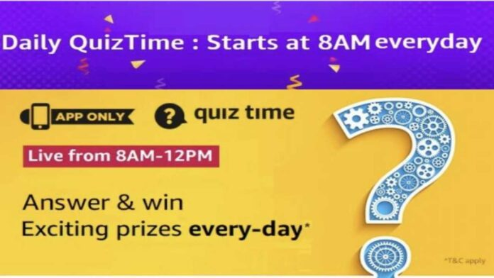 Amazon Quiz 3rd December Answers