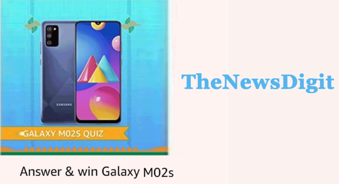 The ___ display in Samsung Galaxy M02s is the first-ever in a Galaxy Smartphone